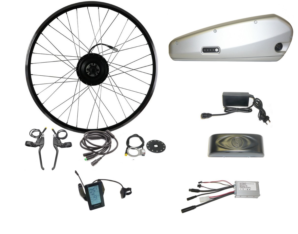 Kit 250W + 11,4Ah Li-ion Downtube aku