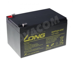 Akumulátor LONG 12V, 12Ah Deep Cycle AGM F2 - Pb